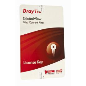 A-CARD -DRAYTEK LICENCIA A 1-ANIO FILTRO CONTENIDO WEB GLOBALVIEW 1-YEAR