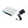 Multiwan 100mbps Mikrotik HEX-LITE HEX-LITE MIKROTIK 5-100 L4 850MHz 64mb Caja-Plastica inc-Fuente-Poder RB750r2