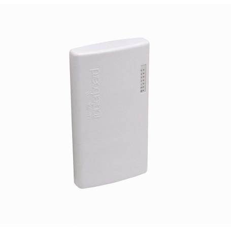 Router Exterior Mikrotik FIBERBOX FIBERBOX MIKROTIK 5-SFP RouterOS-L5 400MHz 128mb 16mb inc-24V p/Riel-Din c/RJ01
