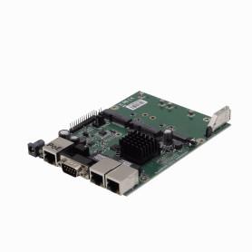 RBM33G -MIKROTIK 880MHz 3-1000 2-SIM 2-MiniPCIe M.2/Slot DB9 USB L4 105x150mm