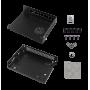 Tarjeta y caja separada Mikrotik CA150 CA150 KROTIK INTERIOR CASE CAJA METALICA PARA RB450 RB450G RB850GX2