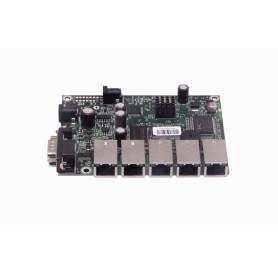 RB450 -MIKROTIK 5-100 L5 300MHZ 64MB RS232-DB9 ROUTERBOARD REQ-CAJA-FUENTE