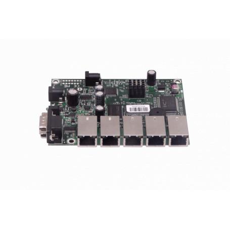 Tarjeta y caja separada Mikrotik RB450GX4 RB450GX4 MIKROTIK 5-100 L5 300MHZ 64MB RS232-DB9 ROUTERBOARD REQ-CAJA-FUENTE