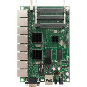 RB493G -MIKROTIK 9-1000 L5 680MHZ RS232-DB9 3-MINIPCI USB req-Caja-Fuente