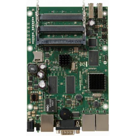 Tarjeta y caja separada Mikrotik RB435G RB435G MIKROTIK 256MB 680MHZ 5-MINIPCI 3-1000 2-USB mSD