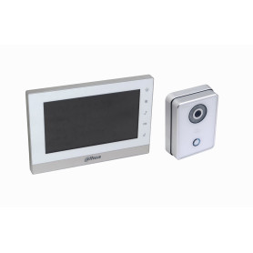 VTKB -DAHUA Kit Portero IP Control Acceso Alarma VTK-VTO6210BW-VTH1550CH