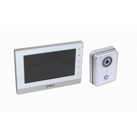 Videoportero Dahua VTKB VTKB -DAHUA Kit Portero IP Control Acceso Alarma VTK-VTO6210BW-VTH1550CH