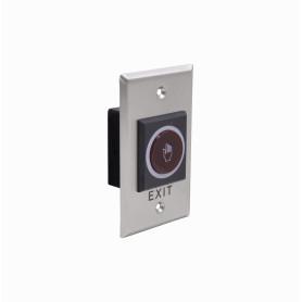 K1-1 -ZK Sensor-10cm No-Touch Salida Exit PlacaMetal 70x114x29mm req-12VDC