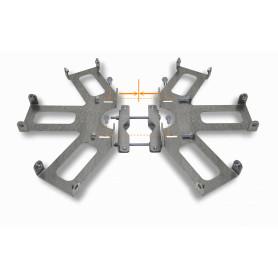 UCM6-T - RFARMOR 6-GANG CLUSTER SISTEMA P/6-SECTORIALES REQ-USK-ESCUDOS
