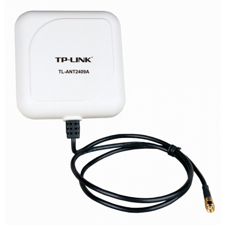 Panel / Yagi TP-LINK TL-ANT2409A TL-ANT2409A TP-LINK RPSMA-Macho 9dBi 2,4GHz Exterior Cable-1mt Antena Panel