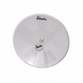 ALT-5G34 - ALTELIX 34dBi 950mm 4,9GHz 5GHz 4900-6050MHz 2-N-H/RPSMA-M Antena Dish