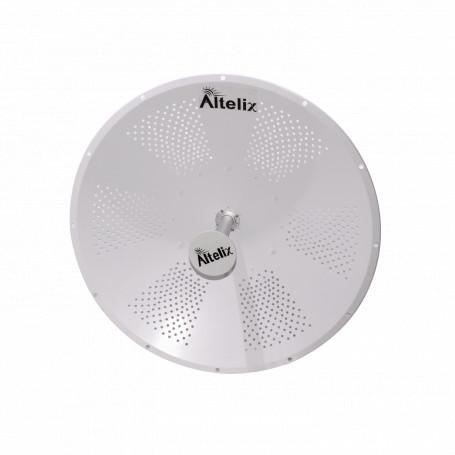 Parabolica Dish Altelix ALT-5G34 ALT-5G34 ALTELIX 34dBi 950mm 4,9GHz 5GHz 4900-6050MHz 2-N-H/RPSMA-M Antena Dish