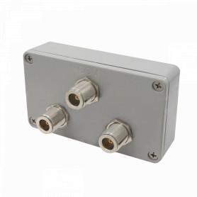 SC902N - L-COM Splitter 900MHz 1-N-in 2-N-out Exterior 800-1000MHz