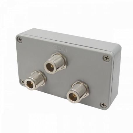 Splitter/Supresor/Otro L-COM SC902N SC902N - L-COM Splitter 900MHz 1-N-in 2-N-out Exterior 800-1000MHz