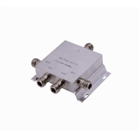 Splitter/Supresor/Otro Generico SCW04N SCW04N - Splitter RF 380-2500MHz 0,38-2,5GHz 2,4GHz 5-N-Hembra