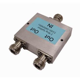 SC5802N - LINKMADE SPLITTER 1-N-H 2-N-H 5100-5800MHZ P/ANTENA-5GHZ
