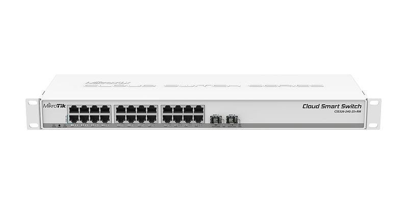 CSS326-24G-2S+RM-switch-mikrotik-compratecno-front
